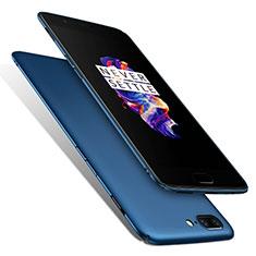 Cover Plastica Rigida Opaca M01 per OnePlus 5 Blu