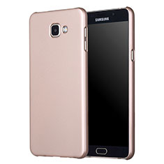 Cover Plastica Rigida Opaca M01 per Samsung Galaxy A5 (2017) Duos Oro