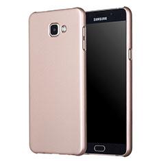 Cover Plastica Rigida Opaca M01 per Samsung Galaxy A7 (2017) A720F Oro