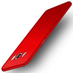 Cover Plastica Rigida Opaca M01 per Samsung Galaxy J5 Duos (2016) Rosso