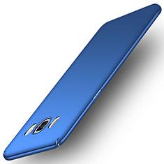 Cover Plastica Rigida Opaca M01 per Samsung Galaxy J7 (2016) J710F J710FN Blu