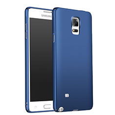 Cover Plastica Rigida Opaca M01 per Samsung Galaxy Note 4 Duos N9100 Dual SIM Blu