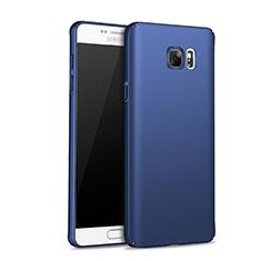 Cover Plastica Rigida Opaca M01 per Samsung Galaxy Note 5 N9200 N920 N920F Blu