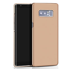 Cover Plastica Rigida Opaca M01 per Samsung Galaxy Note 8 Duos N950F Oro
