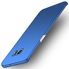 Cover Plastica Rigida Opaca M01 per Samsung Galaxy S6 Edge SM-G925 Blu