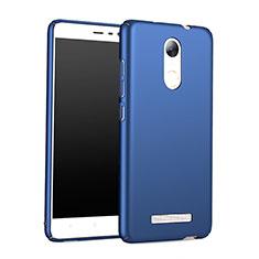Cover Plastica Rigida Opaca M01 per Xiaomi Redmi Note 3 Pro Blu