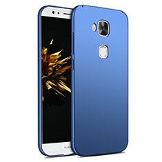 Cover Plastica Rigida Opaca M02 per Huawei G7 Plus Blu