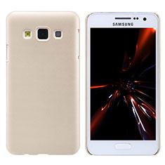 Cover Plastica Rigida Opaca M02 per Samsung Galaxy A3 SM-300F Oro