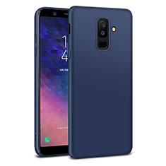 Cover Plastica Rigida Opaca M02 per Samsung Galaxy A6 Plus (2018) Blu