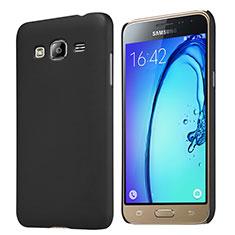 Cover Plastica Rigida Opaca M02 per Samsung Galaxy J3 (2016) J320F J3109 Nero
