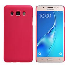 Cover Plastica Rigida Opaca M02 per Samsung Galaxy J5 Duos (2016) Rosso