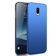 Cover Plastica Rigida Opaca M02 per Samsung Galaxy J7 Plus Blu