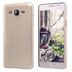 Cover Plastica Rigida Opaca M02 per Samsung Galaxy On5 Pro Oro