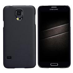 Cover Plastica Rigida Opaca M02 per Samsung Galaxy S5 G900F G903F Nero