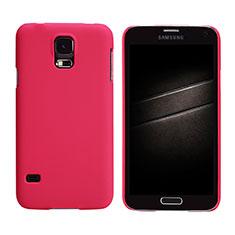 Cover Plastica Rigida Opaca M02 per Samsung Galaxy S5 G900F G903F Rosso