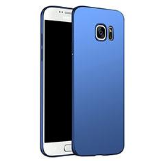Cover Plastica Rigida Opaca M02 per Samsung Galaxy S6 Duos SM-G920F G9200 Blu