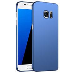 Cover Plastica Rigida Opaca M02 per Samsung Galaxy S7 G930F G930FD Blu