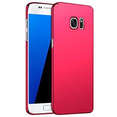 Cover Plastica Rigida Opaca M02 per Samsung Galaxy S7 G930F G930FD Rosso