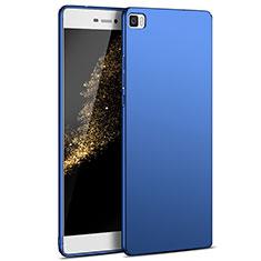 Cover Plastica Rigida Opaca M03 per Huawei P8 Lite Blu
