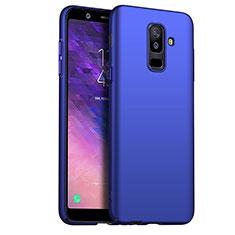 Cover Plastica Rigida Opaca M03 per Samsung Galaxy A6 Plus (2018) Blu