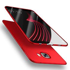 Cover Plastica Rigida Opaca M03 per Samsung Galaxy C5 SM-C5000 Rosso