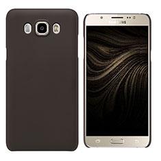 Cover Plastica Rigida Opaca M03 per Samsung Galaxy J7 (2016) J710F J710FN Marrone