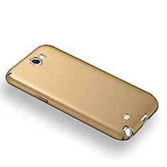 Cover Plastica Rigida Opaca M03 per Samsung Galaxy Note 2 N7100 N7105 Oro