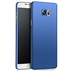 Cover Plastica Rigida Opaca M03 per Samsung Galaxy Note 5 N9200 N920 N920F Blu