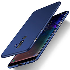 Cover Plastica Rigida Opaca M04 per Samsung Galaxy A6 Plus (2018) Blu