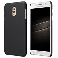 Cover Plastica Rigida Opaca M04 per Samsung Galaxy C8 C710F Nero