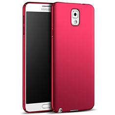 Cover Plastica Rigida Opaca M05 per Samsung Galaxy Note 3 N9000 Rosso
