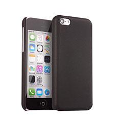 Cover Plastica Rigida Opaca per Apple iPhone 5C Nero