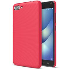 Cover Plastica Rigida Opaca per Asus Zenfone 4 Max ZC554KL Rosso
