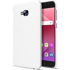 Cover Plastica Rigida Opaca per Asus Zenfone 4 Selfie Pro Bianco