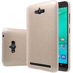 Cover Plastica Rigida Opaca per Asus Zenfone Max ZC550KL Oro