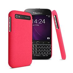 Cover Plastica Rigida Opaca per Blackberry Classic Q20 Rosso