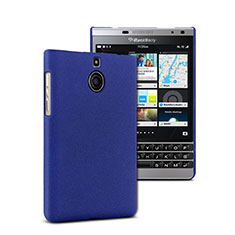 Cover Plastica Rigida Opaca per Blackberry Passport Silver Edition Blu