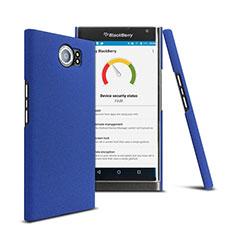 Cover Plastica Rigida Opaca per Blackberry Priv Blu