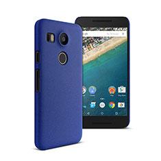 Cover Plastica Rigida Opaca per Google Nexus 5X Blu