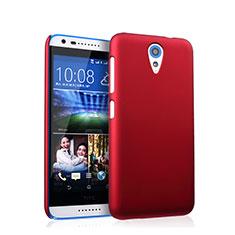 Cover Plastica Rigida Opaca per HTC Desire 620 Rosso