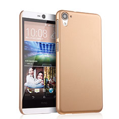 Cover Plastica Rigida Opaca per HTC Desire 826 826T 826W Oro