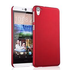 Cover Plastica Rigida Opaca per HTC Desire 826 826T 826W Rosso