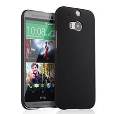 Cover Plastica Rigida Opaca per HTC One M8 Nero