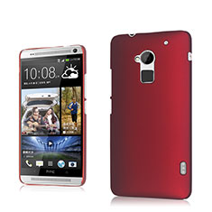 Cover Plastica Rigida Opaca per HTC One Max Rosso
