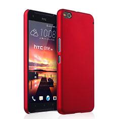 Cover Plastica Rigida Opaca per HTC One X9 Rosso