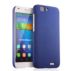 Cover Plastica Rigida Opaca per Huawei Ascend G7 Blu