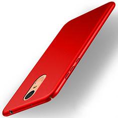 Cover Plastica Rigida Opaca per Huawei Enjoy 6 Rosso