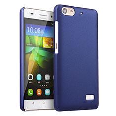 Cover Plastica Rigida Opaca per Huawei G Play Mini Blu