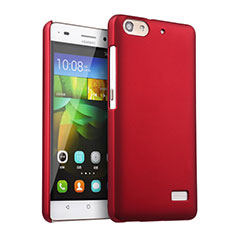 Cover Plastica Rigida Opaca per Huawei G Play Mini Rosso