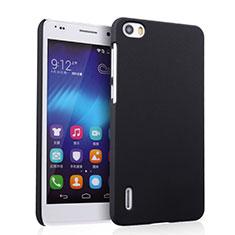 Cover Plastica Rigida Opaca per Huawei Honor 6 Nero